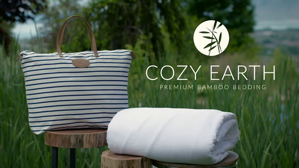 cozy earth premium bamboo bedding