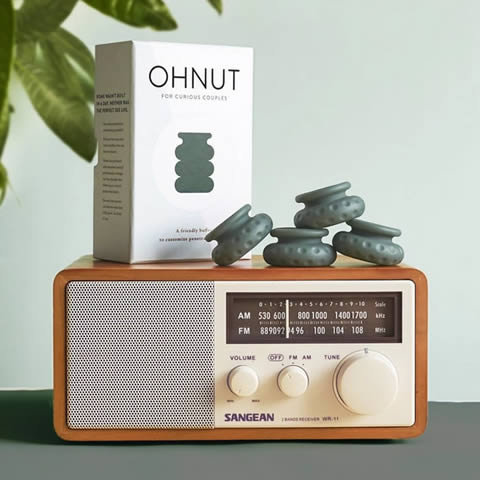 ohnut sex aid for men whose penis is too big and causes pain for women during sexual intercourse