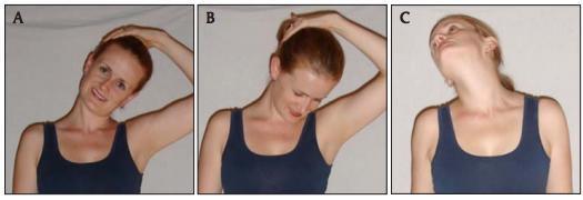 neck stretch series
